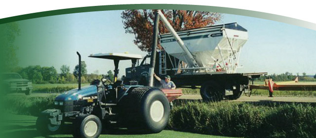 sod tractor and equipment | High on Grass!